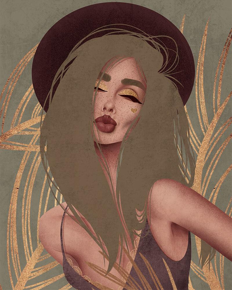 Jennifer Illustration by Natalia Kodi