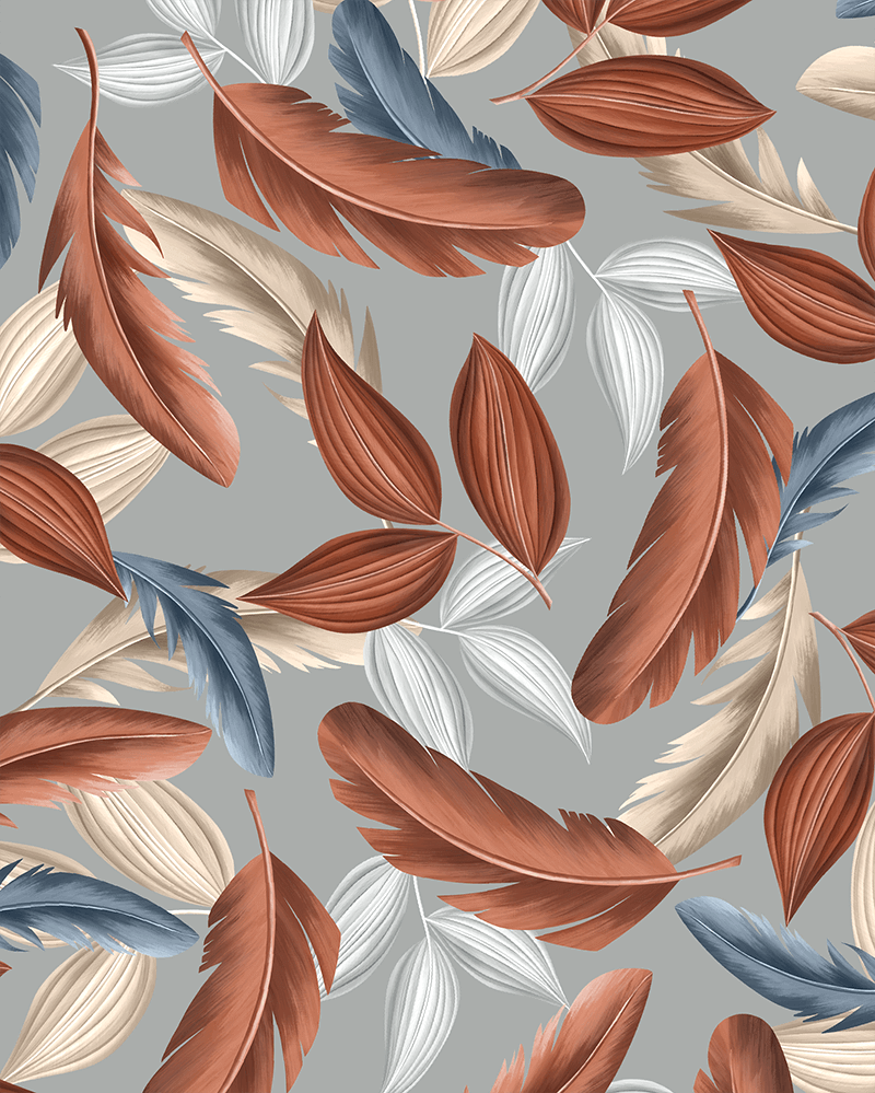 "Pattern ""Leaves"" by Natalia Kodi"